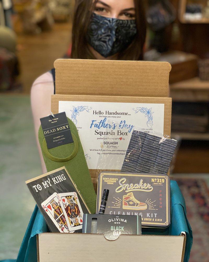 Squash Blossom Father's Day Box