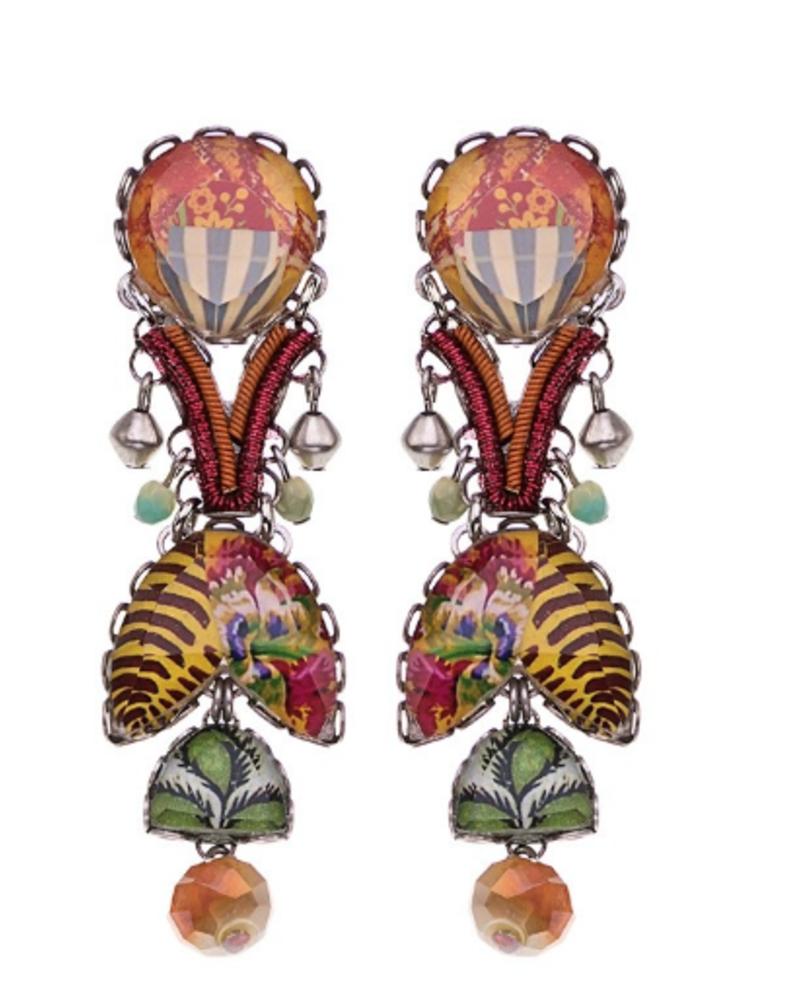Ayala Bar Ayala Bar Floral Bucket Earrings 1575