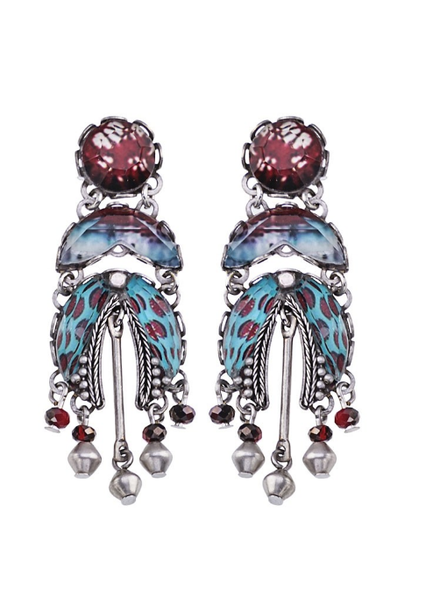 Ayala Bar Blue Note Earrings1516