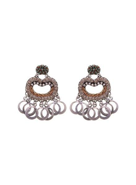 Ayala Bar Metal Light Earrings1583
