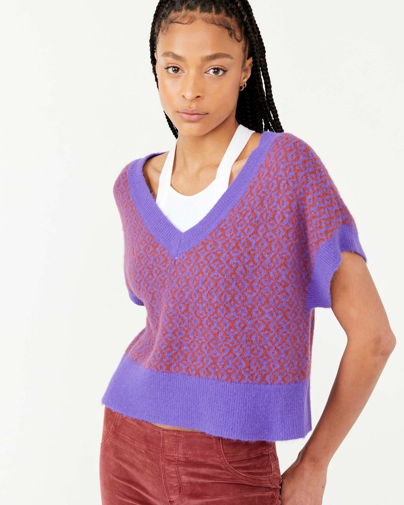 Free People FP Through the Motions Vest