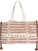 Cowrie Shell Woven Tote
