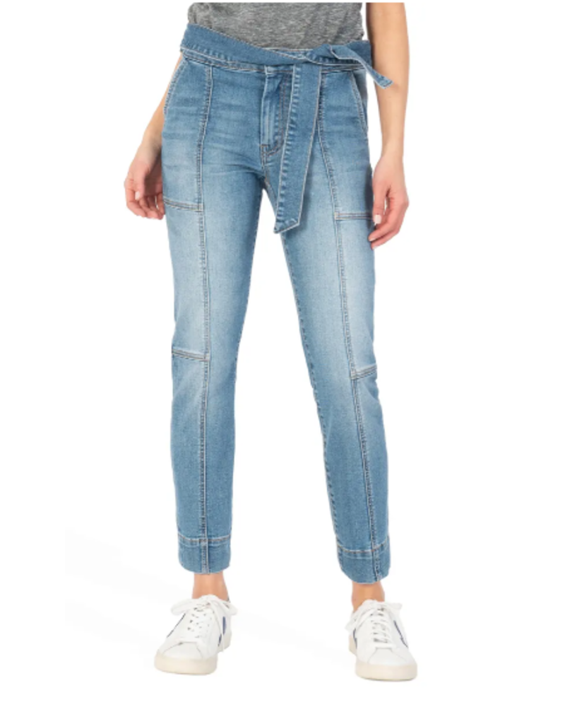 Kut Reese High Rise Ankle Jeans