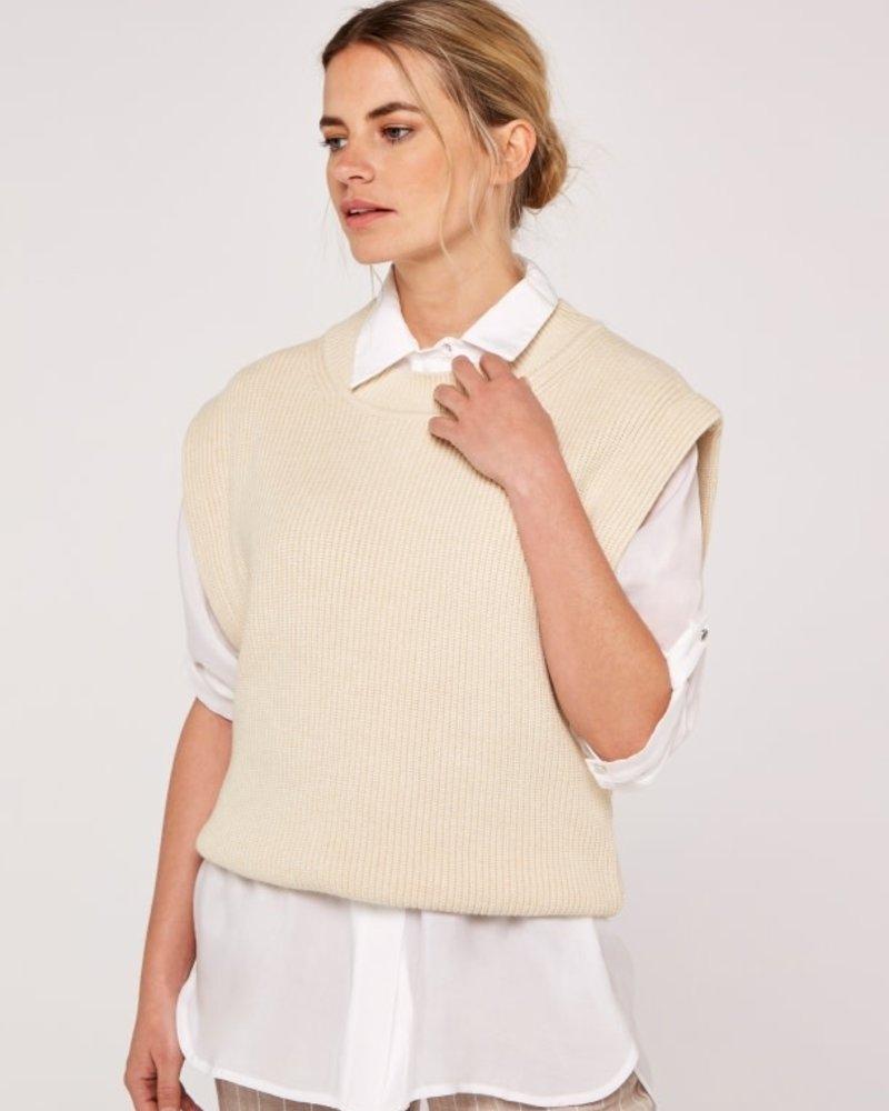 Apricot Apricot Power Shoulder Vest