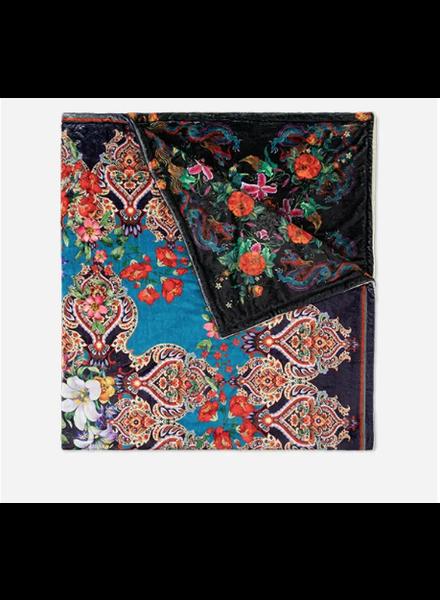 Johnny Was Indi Flower Cozy Blanket