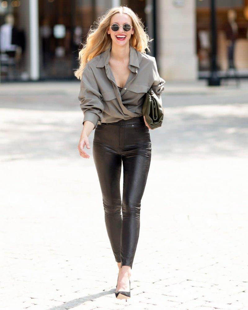 Spanx Spanx Leather-Like Skinny
