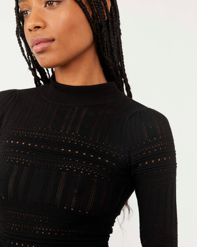Free People Free People Pointelle Me About Bodysuit