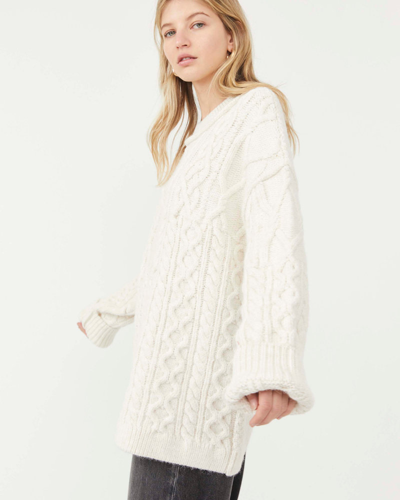 Free People Free People Leslie Cable Tunic