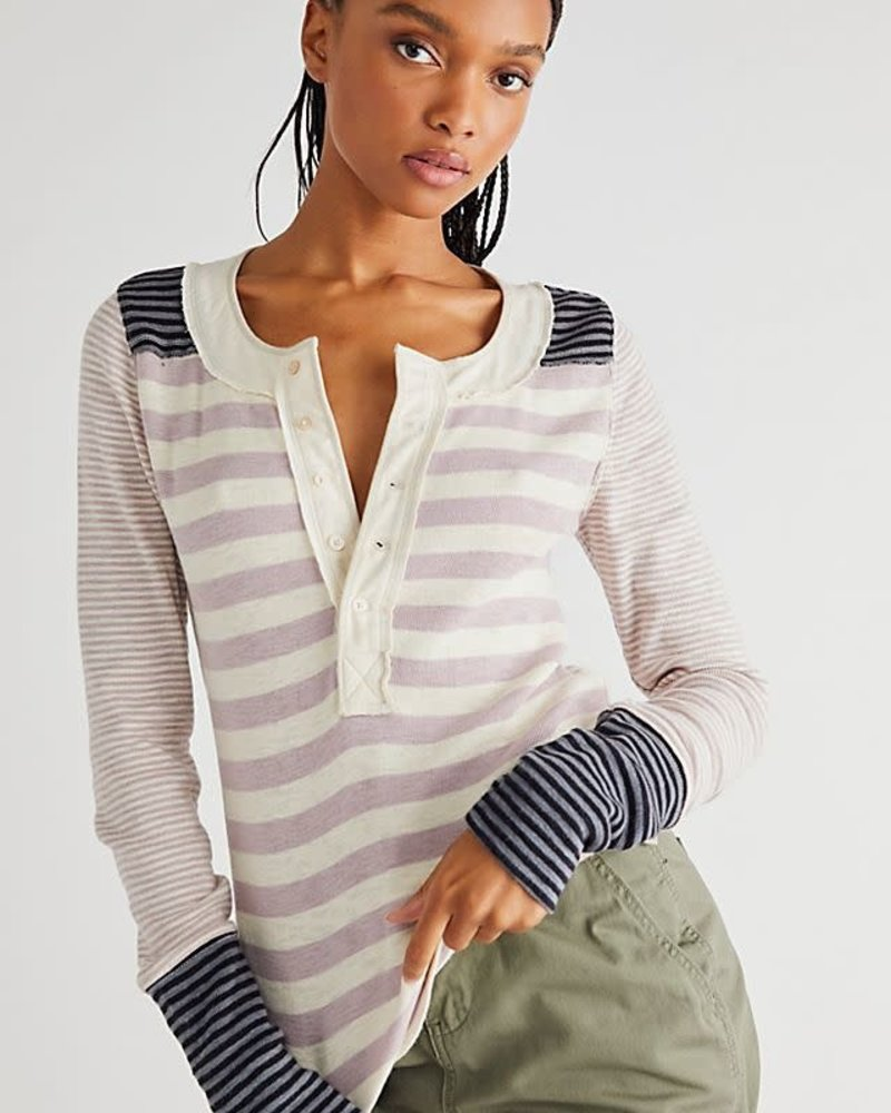 Free People Free People Give Me Stripes Henley