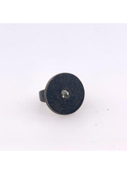 Rebel Designs Disc Black Diamond R32 Ring