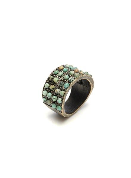 Rebel Designs 4 Row Stone R11 Ring