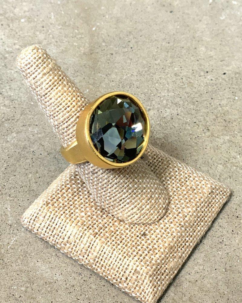Rebel Designs Rebel Designs Single Crystal Ring