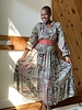 Paani Paani Long Sleeve Maxi Tier 1105 Dress