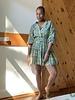 Paani Paani Short Print 832 L/S Dress