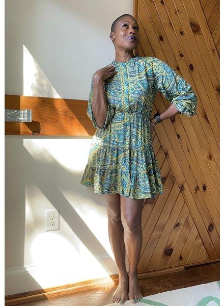 Paani Short Print 832 L/S Dress