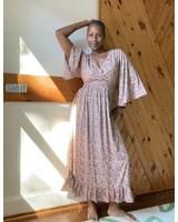 Paani Bell Sleeve Elastic Waist Dress