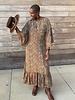 Paani Paani L/S 1297 Maxi  Dress