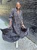 Paani Paani 3/4 Sleeve Print Tier Maxi Dress