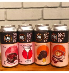 D9 D9 Confectioners Series 4pk can