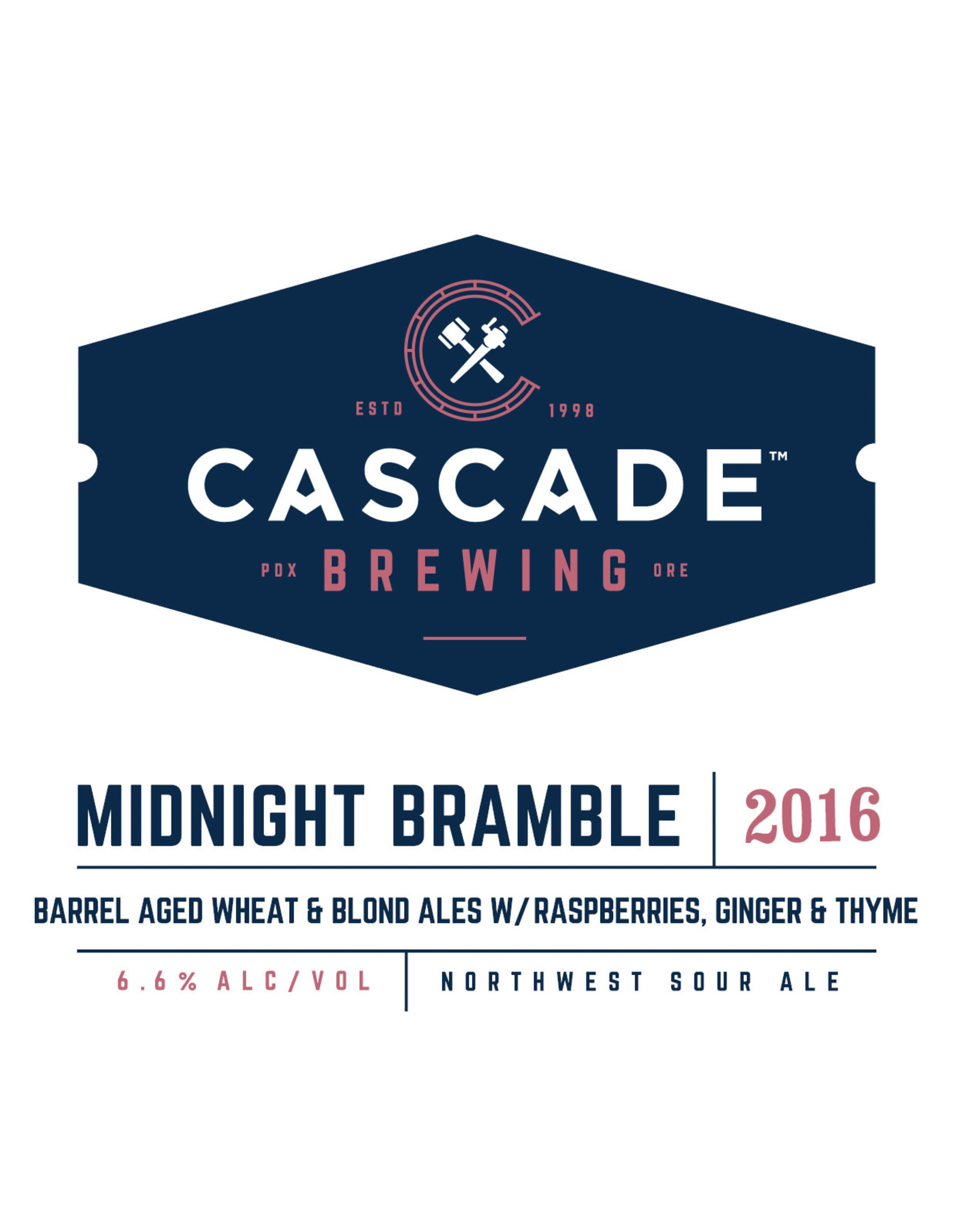 Cascade Cascade Midnight Bramble 750ml