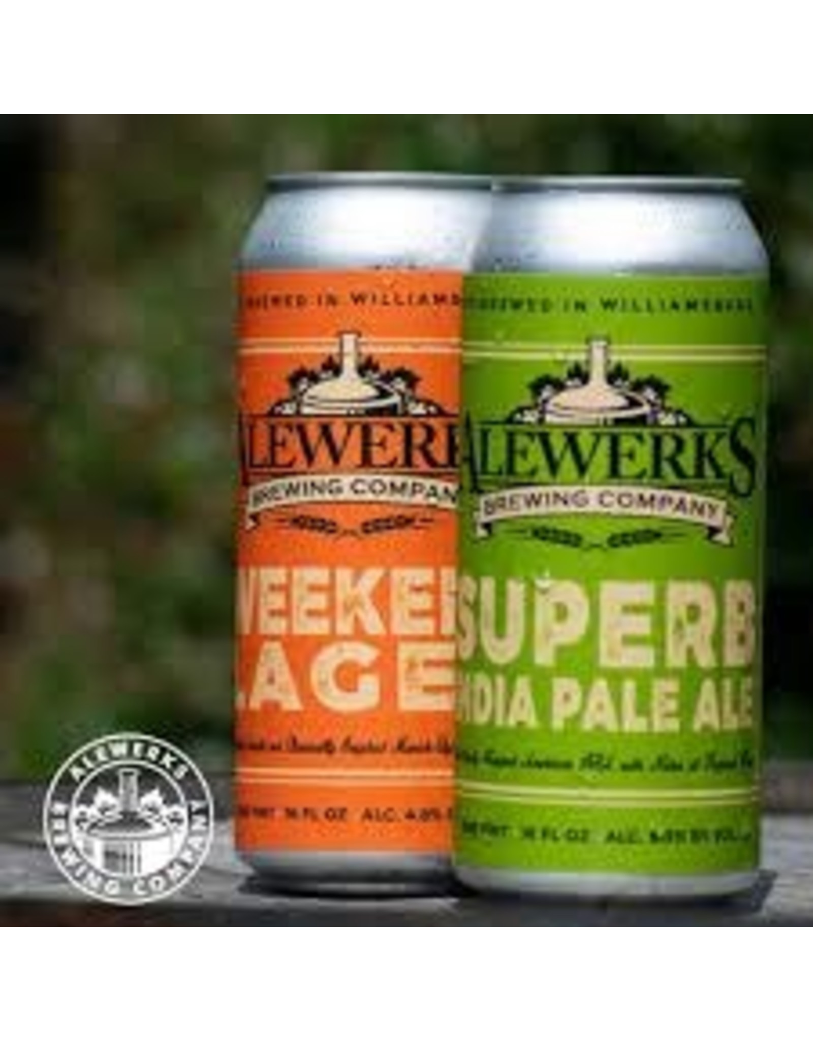 Alewerks Alewerks Weekend Lager 4pk can