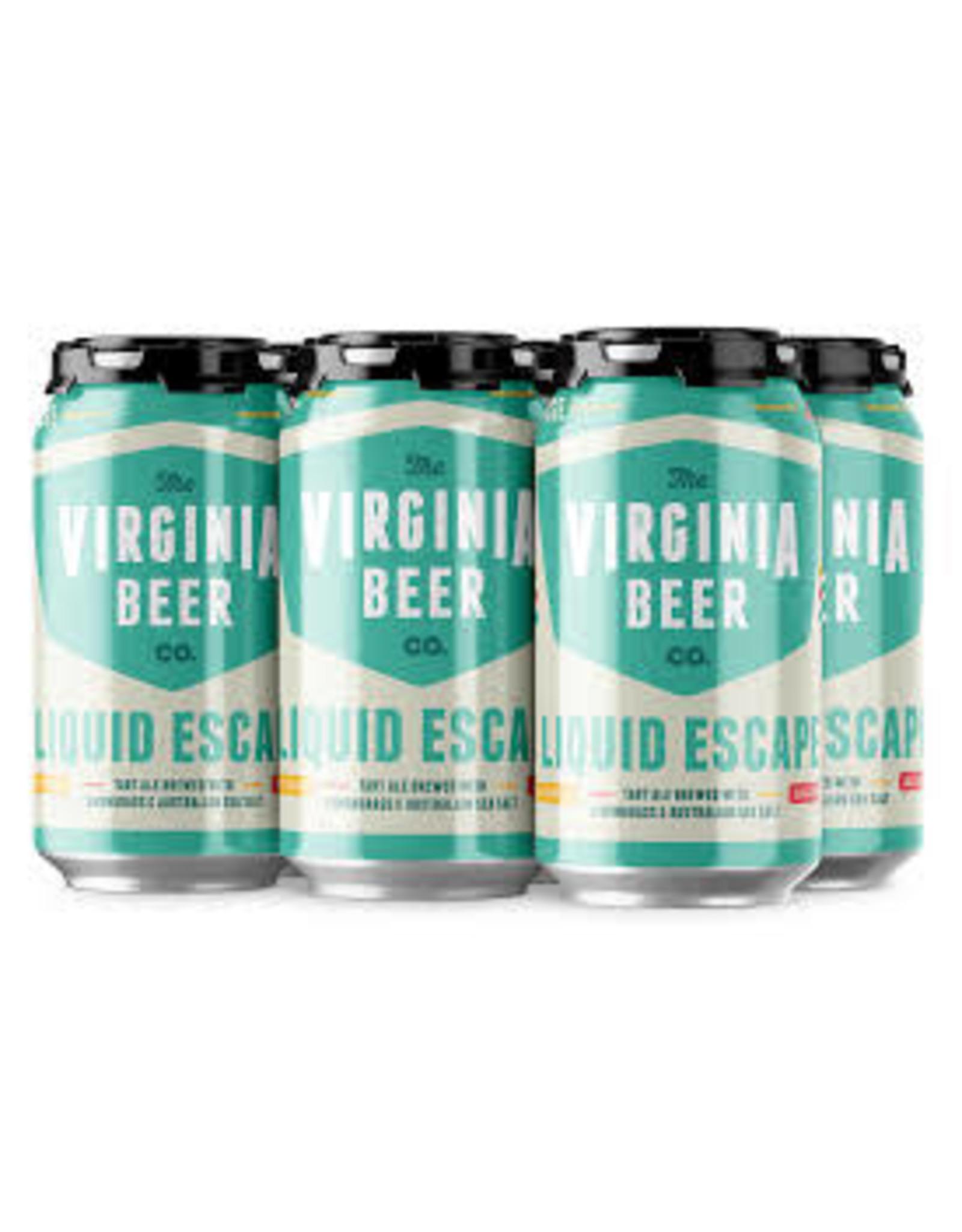 Virginia Beer Company VBC Liquid Escape 6pk can