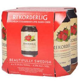 Rekorderlig Rekorderlig Strawberry Lime Cider 4pk