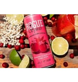Rogue Rogue Cranberry Elderflower Vodka Soda 4pk can