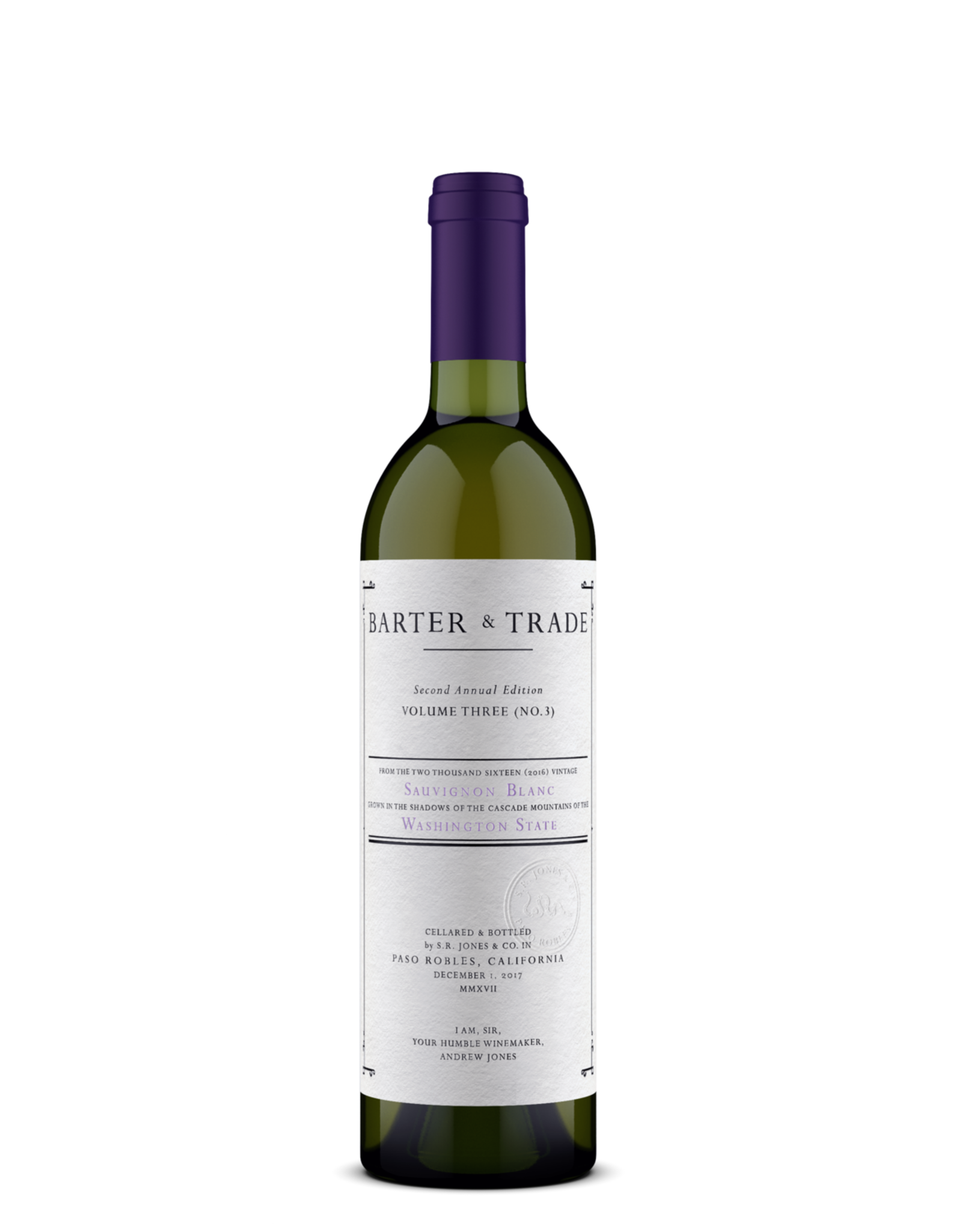Field Recordings Barter & Trade Sauvignon Blanc