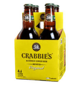 Crabbies Crabbies Ginger Beer 4pk bottle