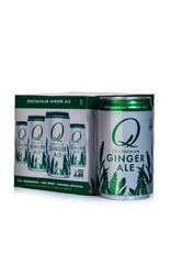 Q Ginger Ale 4pk can