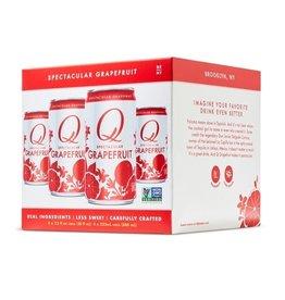 Q Grapefruit 4pk can
