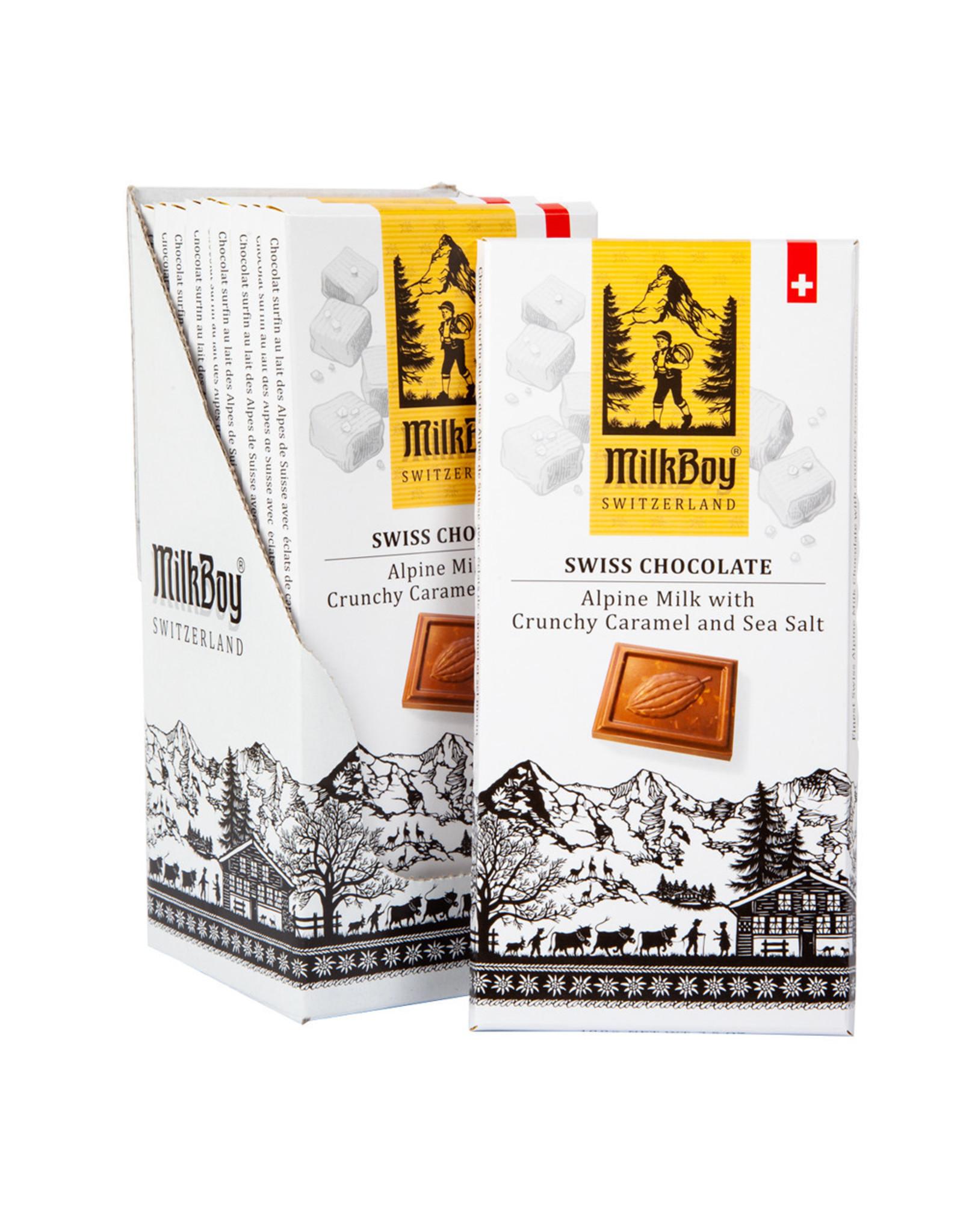 Milkboy Salted Caramel Milk Chocolate Bar