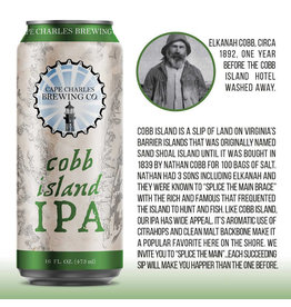 Cape Charles Cape Charles Cobb Island 4pk can