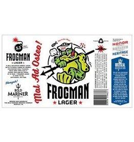 Bold Mariner Bold Mariner Frogman Lager 6pk can