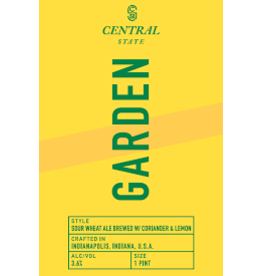 Central State Central State Garden 4pk can