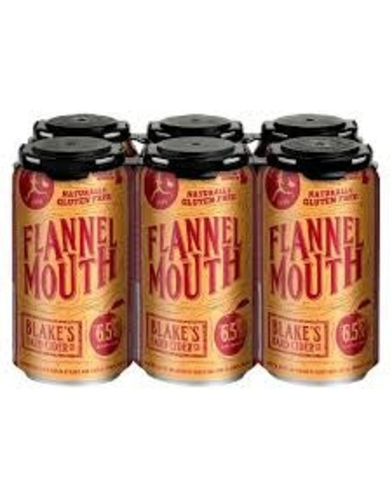 Blake's Hard Cider Blake's Flannel Mouth 6pk can