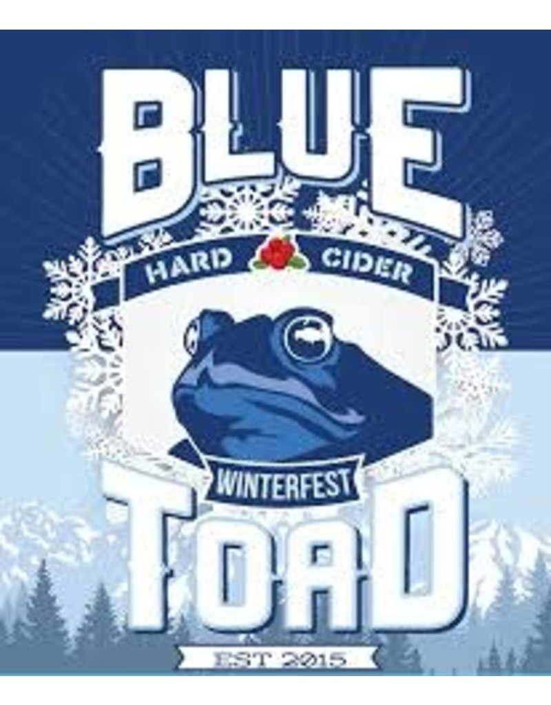 Blue Toad Blue Toad Winterfest 4pk can