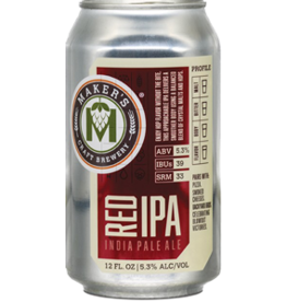 Maker's Craft Makers Red IPA 6pk can