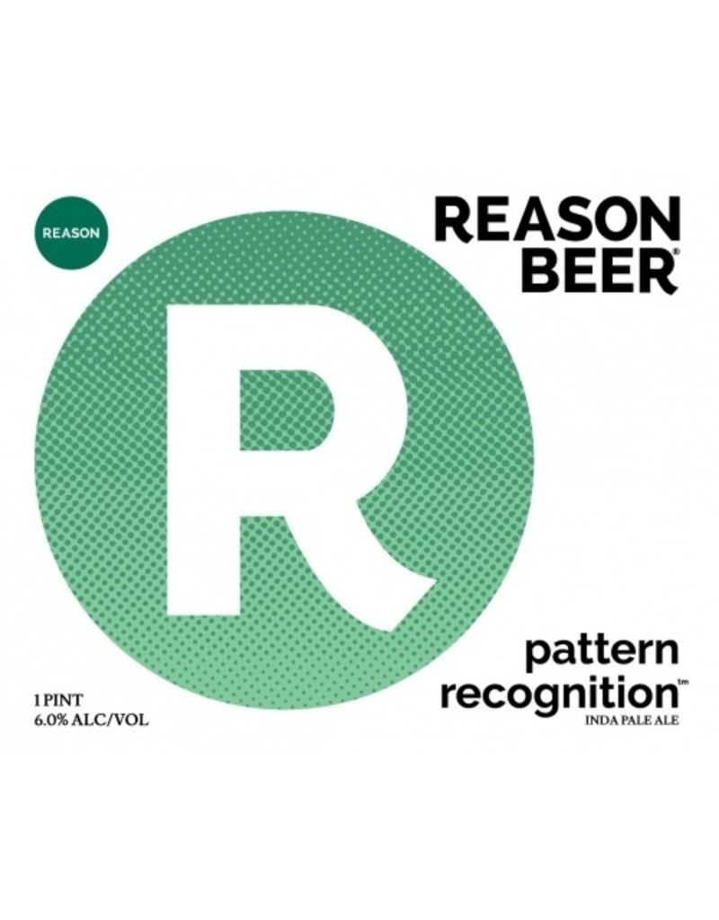 Reason Beer Reason Pattern Recognition 4pk can