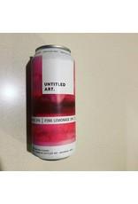 Untitled Art Untitled Art Pink Lemonade IPA 4pk can