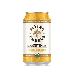 Flying Embers Flying Embers Lemon Orchard Kombucha 4pk can