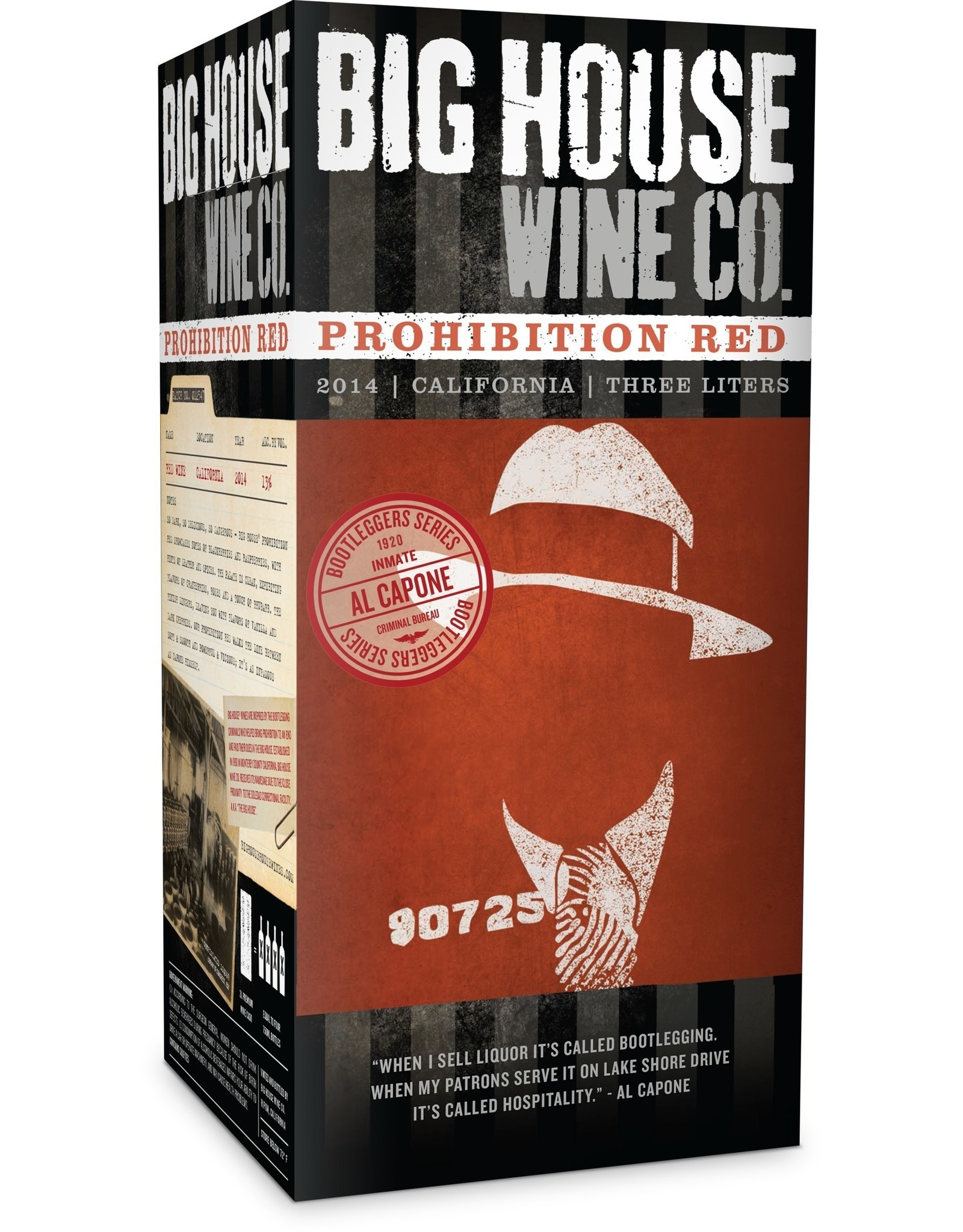 Big House Prohibition Red Blend