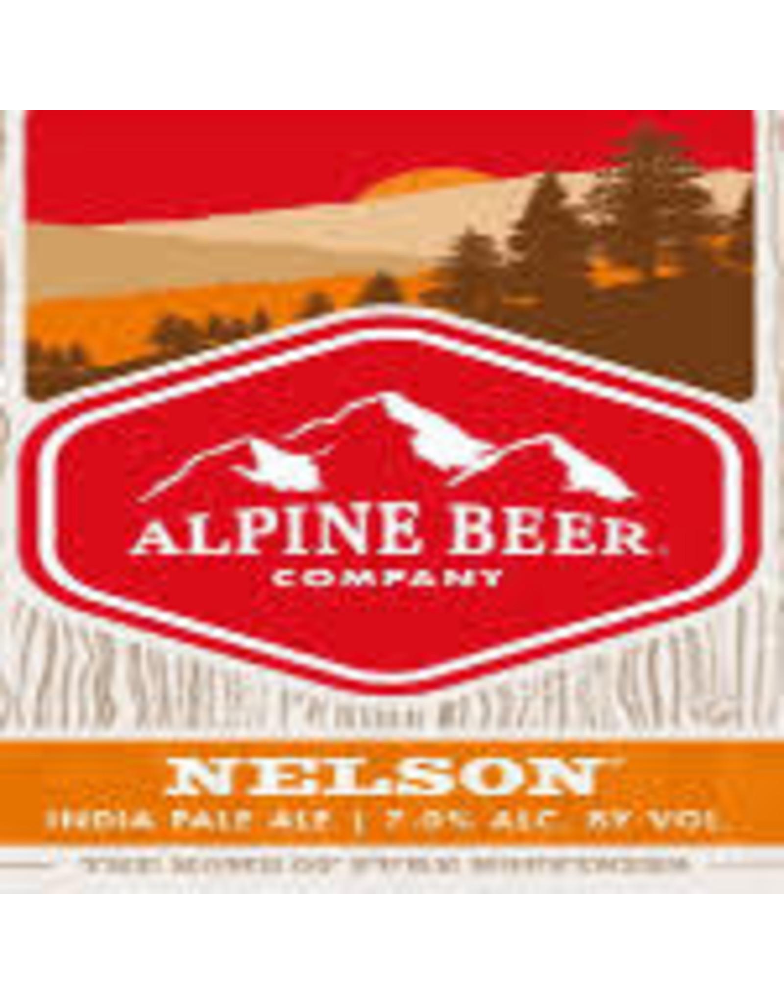Alpine Beer Alpine Beer Nelson IPA 6pk can