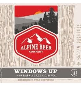 Alpine Beer Alpine Beer Windows Up IPA 6pk can