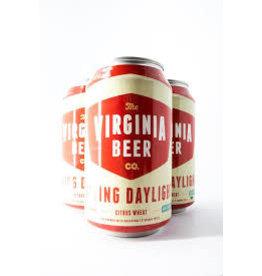 Virginia Beer Company VBC Saving Daylight 6pk can