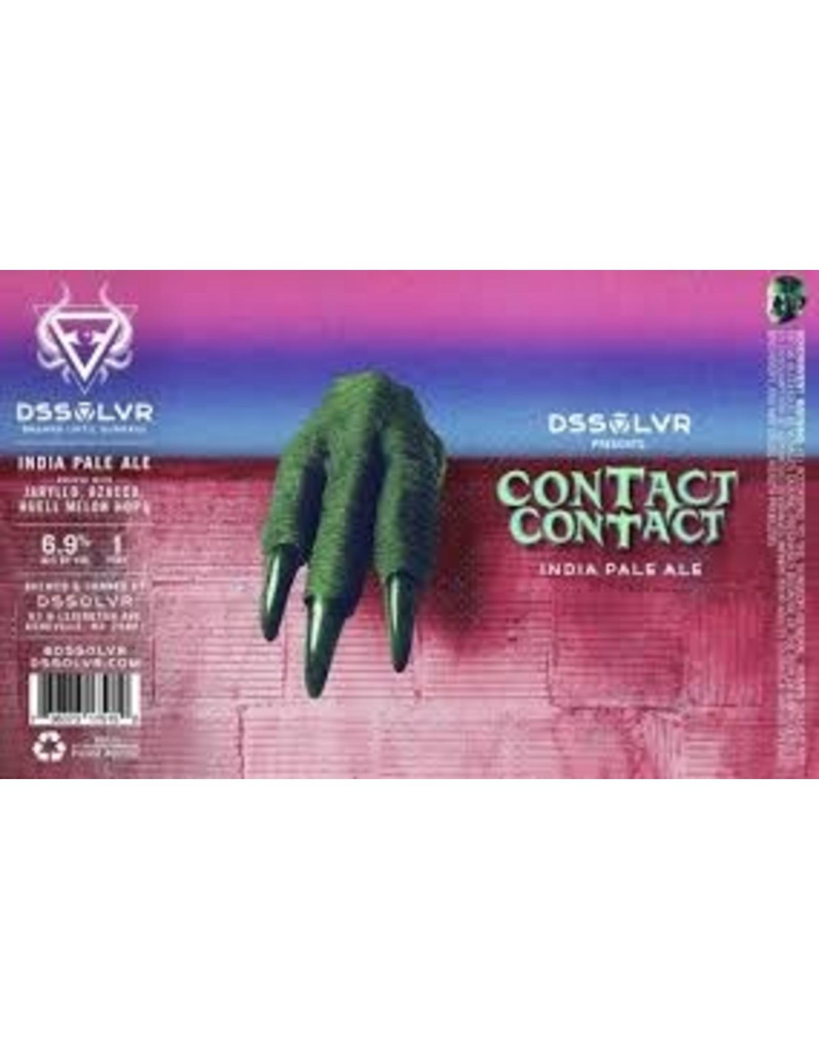 DSSOLVR DSSOLVR Contact Contact IPA 4pk can
