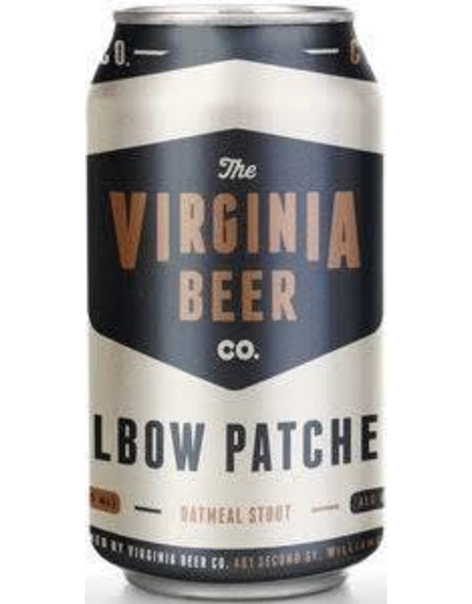 Virginia Beer Company VBC Elbow Patches 6pk can