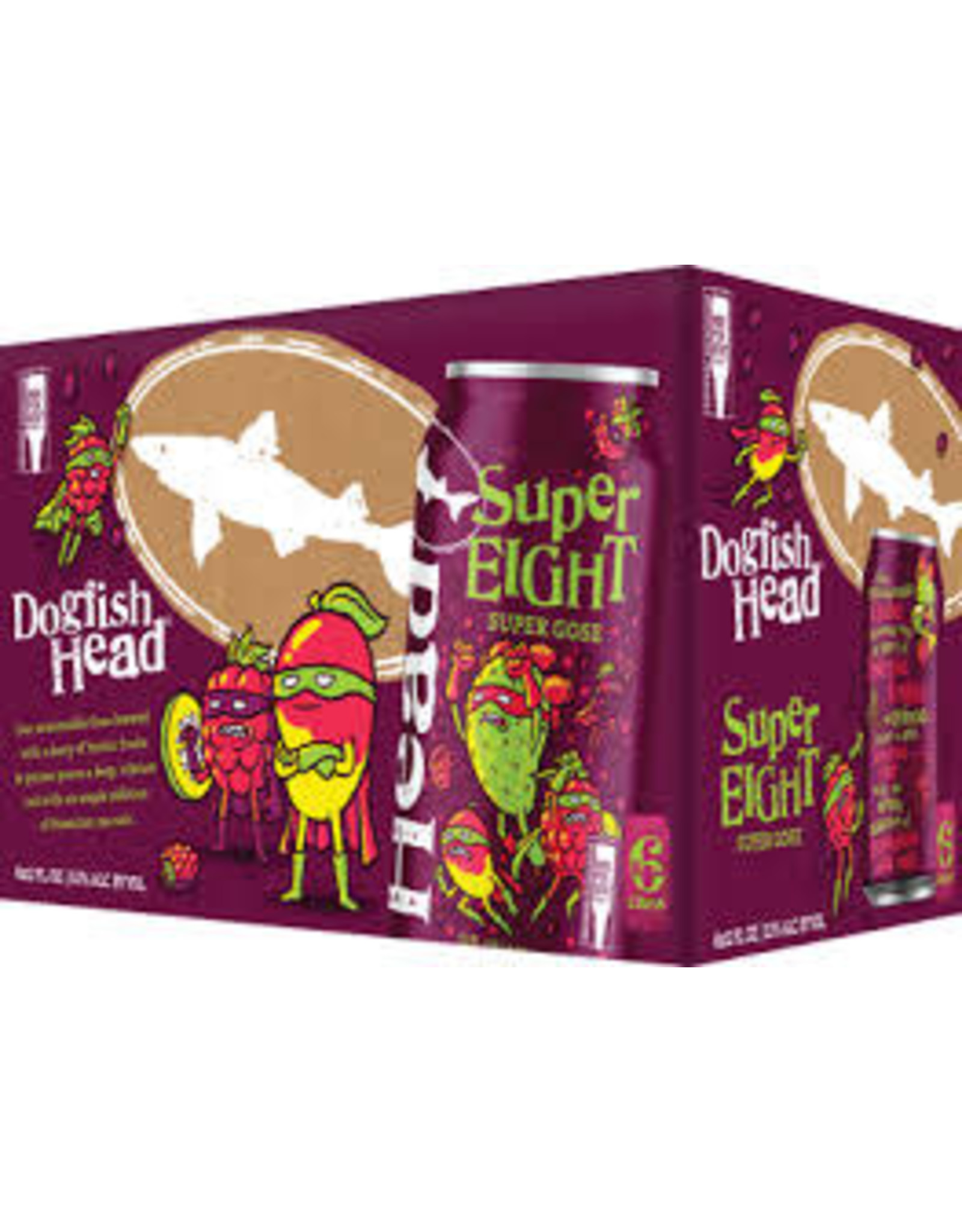 Dogfish Head Dogfish Head Super Eight Gose 6pk can