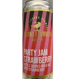 Hermit Thrush Hermit Thrush Party Jam Strawberry 4pk can